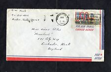 Cover - 1973 Washington Postmark & Stamp. Addressed Rochester w 2 Page Letter.