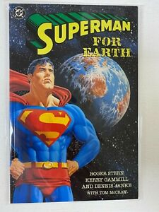 Superman For Earth #1 8.0 VF (1991)