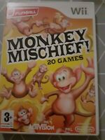 Monkey Mischief for Nintendo Wii + Manual – Freepost