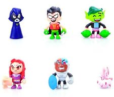 Teen Titans Go Teen Titans Action Figure 6-Pack, 2""