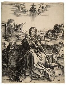 Albrecht Durer The Holy Family with the Dragonfly paper or canvas reproduction