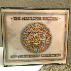 ALLIGATOR RECORDS 20th Anniversary Collection -Compact Disc 2xCD- Excellent Cond
