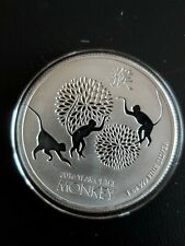 2016 Silver Niue 2 Dollars Year Of The Monkey