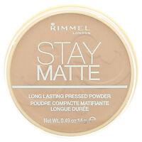 RIMMEL Stay Matte Long lasting Pressed Powder New --Choose shade---