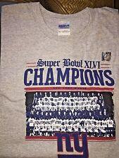 ~ BRAND NEW ~ New York Giants Super Bowl XLVI Champs~Size XXL~