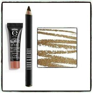 Eyeko 4ml Zodiac Lid Gloss + Lord & Berry Line/Define Glam Eye Pencil Dore Gold