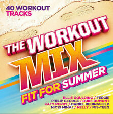 Various - The Workout Mix (Fit For Summer) 2xCD - NEW and SEALED
