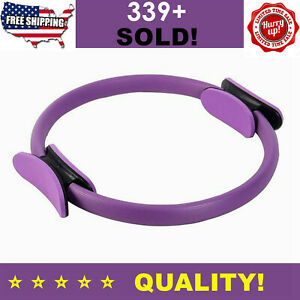 Dual Grip Pilates Ring Yoga Circle Body Sport Exercise Fitness Weight Train Tool