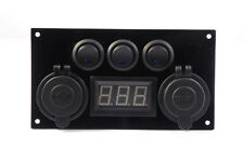 Double USB Switch Panel Camper Van 12V 2.1A Control Panel