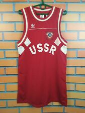 USSR jersey Basketball S Shirt Replica Red Russia Football Soccer Adidas CE2309