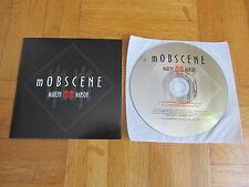 MARILYN MANSON Mobscene 2003 GERMANY collectors CD single