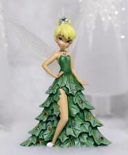 "Edt Limitée Figurine/Statue Fée clochette DISNEY Bradford Ex. ""O'Christmas"" Neuf"
