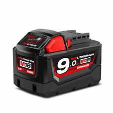 Milwaukee M18 18V Red Li-Ion High Demand Battery - M18B9