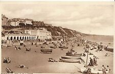Dorset Postcard - Bournemouth - East Cliff & Sands  MB224