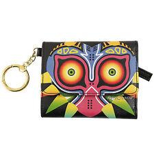 The Legend of Zelda Majora's Mask Keychain Trifold Flap Mini Wallet Billfold