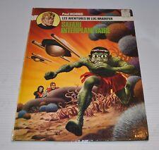 LUC BRADEFER: Safari Interplanetaire BD French Comic Paul Norris - rj