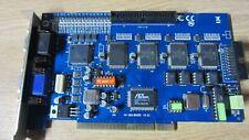 Geovision GV-800 16 Ch PCI DVR  Capture Card V 8.2 Win 10 32 Bit only