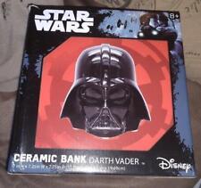 Star Wars Darth Vader Ceramic Coin Bank NIB