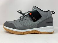 AND1 Men's Capital 2.0 Gray/Black Athletic Basketball Mens Shoes Size 8.5 New