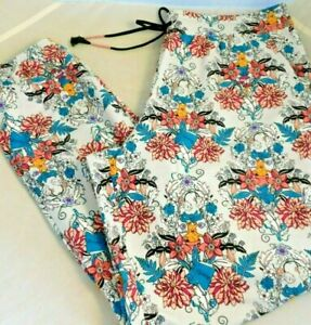 Vera Bradley Harry Potter Herbology Lightweight Jogger Pajama Pants 3X 24-26 New