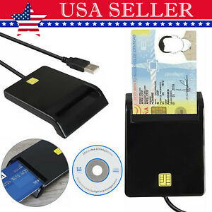 USB2.0 Smart Card Reader DOD Military CAC Common Access-Bank card-ID for Mac OS