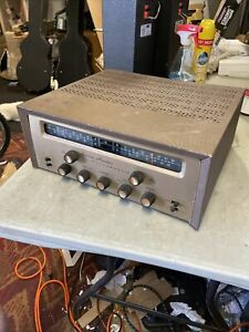 Fulharmonic Stereomaster Vintage Tube Stereo w/ Bass ch Receiver Amp EL84 Scott