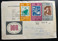 1964 Berlin East Germany DDR First Day Cover To Koln National Philatelic Exhibit