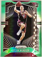2019-20 Panini Dylan Windler Silver Prizm green Rookie Card RC Cavaliers 📈🔥