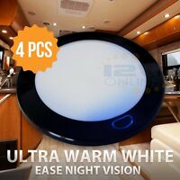 12V LED Interior Ceiling Light RV Trailer Boat Cabin Dome Lighting Switched WW
