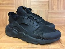 55e7500afb474 RARE🔥 Nike Air Huarache Ultra Run Triple Black 13 819685-002 Men s Running  Shoe