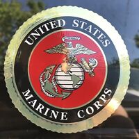 "4"" inch USMC US Marine Corps Decal Car Bumper Sticker EGA"