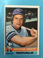 1976 Topps Baseball Card #19  George Brett Kansas City Royals  HOF