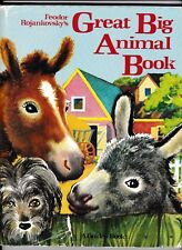 Feodor Rojankovsky's Great Big Animal Book---hc/dj---1982---A Golden Book