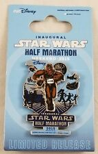 Run Disney inaugurale Star Wars Demi Marathon Weekend 2015 Chewbacca Trading