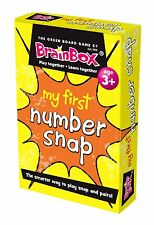 My First Number Snap Pairs Card Game Brainbox - Maths Learning Resource