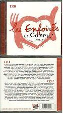 LES ENFOIRES : LA COMPIL 3 - BEST OF ( 2 CD NEUF EMBALLE ) LES RESTOS DU COEUR