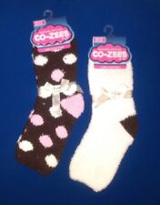 New Womens Girls Fluffy Bed Socks Size 4 5 6 Winter Cosy Slipper Sock EUR 37-40