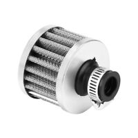12mm Car Vehicle Oil Cold Air Intake Filter Kit Breather Crankcase Vent Cover