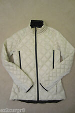 Lululemon Run Turn Around Down Jacket Polar Cream White Reversible Black 6