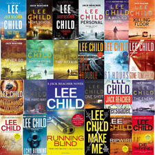 Jack Reacher Series 24 Audiobooks Collection MP3 By Lee Child