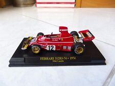 Ferrari 312B3-74 Niki Lauda #12 1974 1/43 F1 Ixo Altaya Formule 1