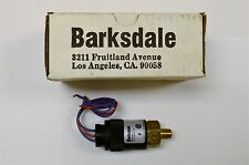 New Barksdale Adjustable Pressure Switch 96211-BB4, 1000psi, NOS.