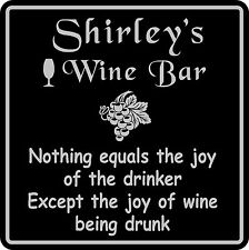 Wine Sign Plaque Gift Bar Pub Personalized Custom Wall Decor Wine Tasting #5