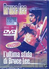 L' ultima sfida di Bruce Lee (1981) DVD NUOVO SIGILLATO Bruce Lee Kim Taj Jong