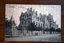 belgique CPA Courtrai, caserne  circulée 1915 courrier FELDPOST