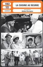 LA CUISINE AU BEURRE - Fernandel,Bourvil (Fiche Cinéma) 1963 - My Wife's Husband
