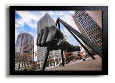 Joe Louis Fist Statue Detroit Michigan Woodward Ave Boxer 13x19 Art Print Poster