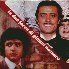 """LE DUE FACCE DI GIANNI NAZZARO """" LP SIGILLATO CGD 1977  RARO  (ENRICO SIMONETTI)"""