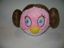"ANGRY BIRDS STAR WARS 2012 RAVIO 10"" x 7"" PLUSH STUFFED TOY PRINCESS LEIA RARE"