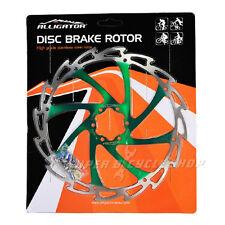 ALLIGATOR Coated Disc Brake Rotor,WIND CUTTER,203mm,Green,151g